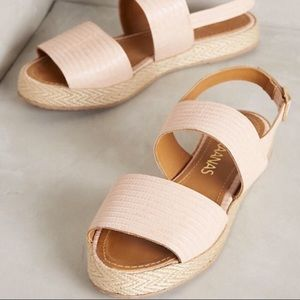 Anthropologie Double Strap Sandals by Kaanas